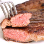 A picture of a cooked steak