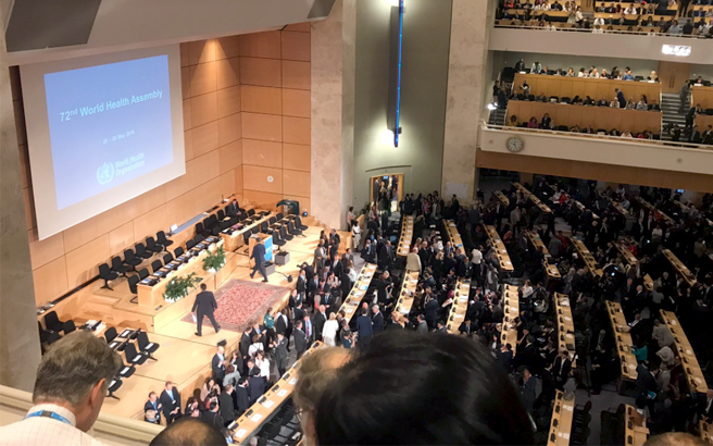 World Health Assembly conference