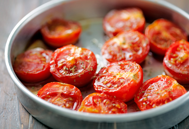 Cooked tomatoes
