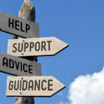 Help Support Advice Guidance signpost