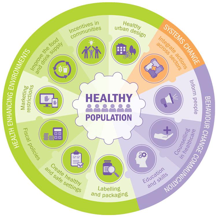 Healthy population policy framework